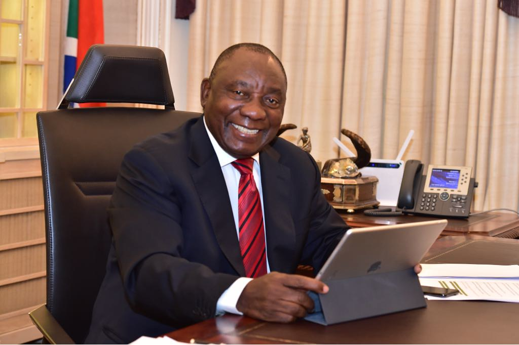 0f9c31571da8 ... President Cyril Ramaphosa puts final touches to the Presidency Budget  Vote speech