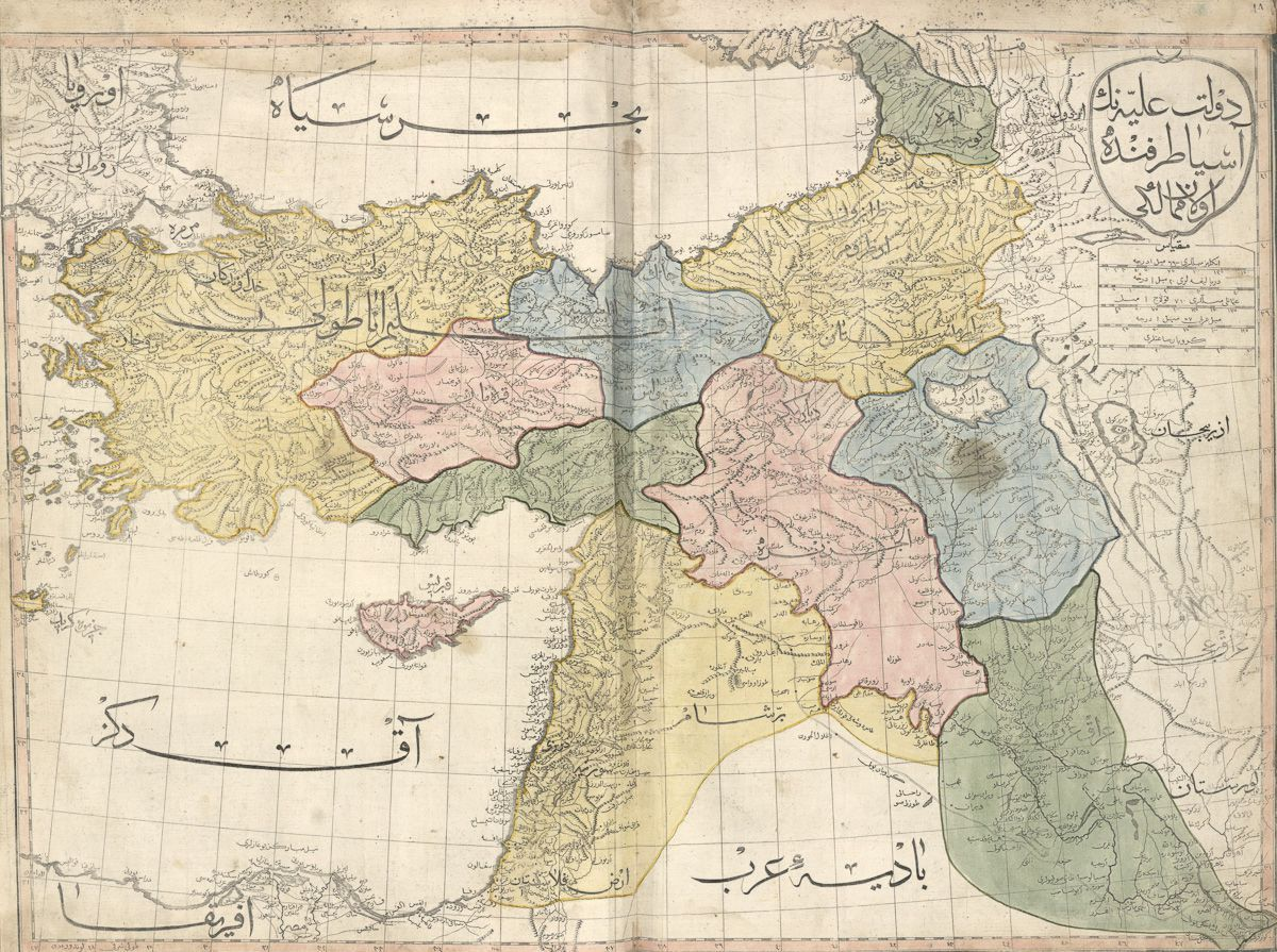 Turkey and Middle East (1803)