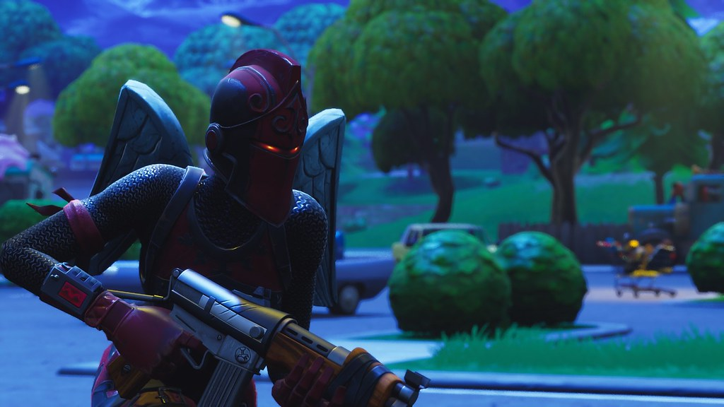 Cool Fortnite Wallpapers Red Knight