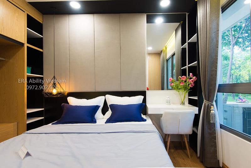 Phòng ngủ master nhà mẫu Celadon City