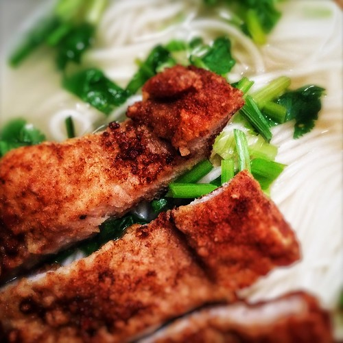 Shanghai, Pork Chop, Noodles, recipe, chinese, soup noodle,  上海, 豬排麵, traditional,