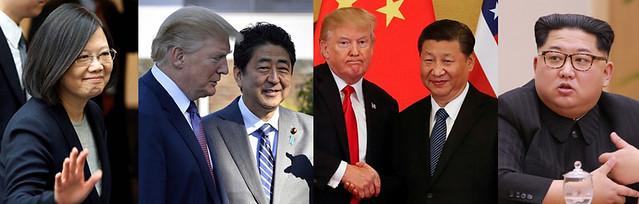 川普改變亞洲 可能正好有效