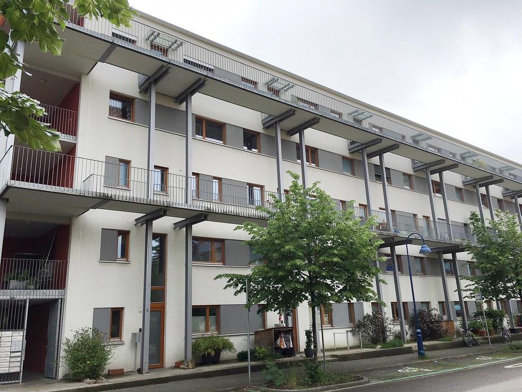 弗班社區被動住宅外觀。 Elisa Miebach攝。