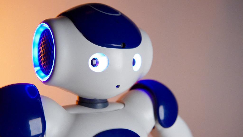 Nao Robot in Studio