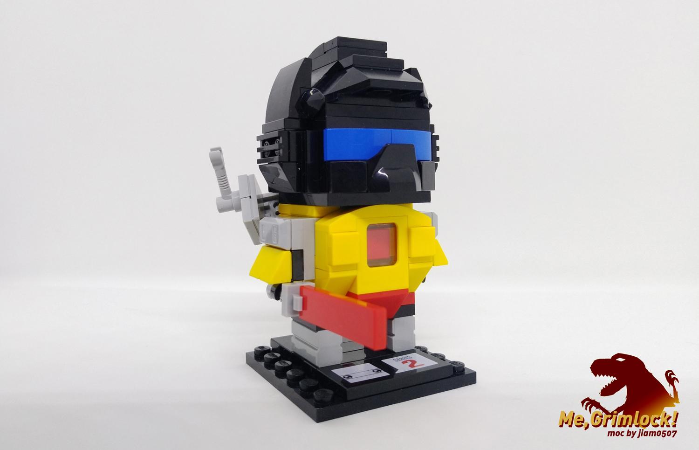 G1 Transformers Brickheadz 第一弹 钢锁