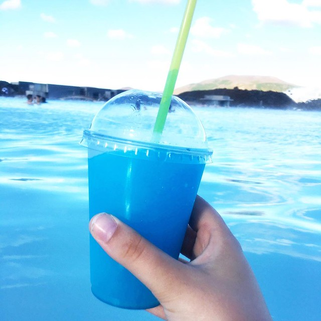 Slushy at the Blue Lagoon, Iceland