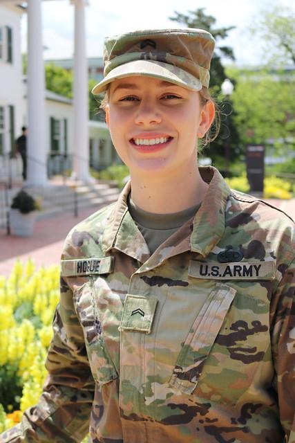 headshot of Boren Scholarship awardee Nicole Hogue on the Auburn University campus
