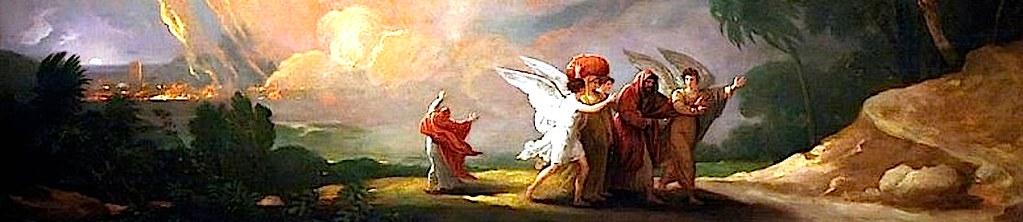 Гибель Содома и бегство Лота.
