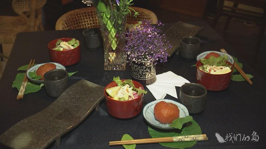 955-3-1 (87)舉辦老屋宴會,餐飲都是當地餐飲業者與在地農民提供。