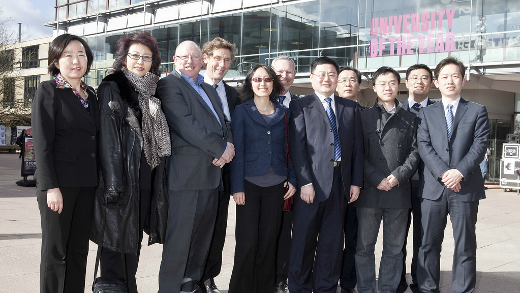 The delegation were keen to learn about the UK's energy technologies.