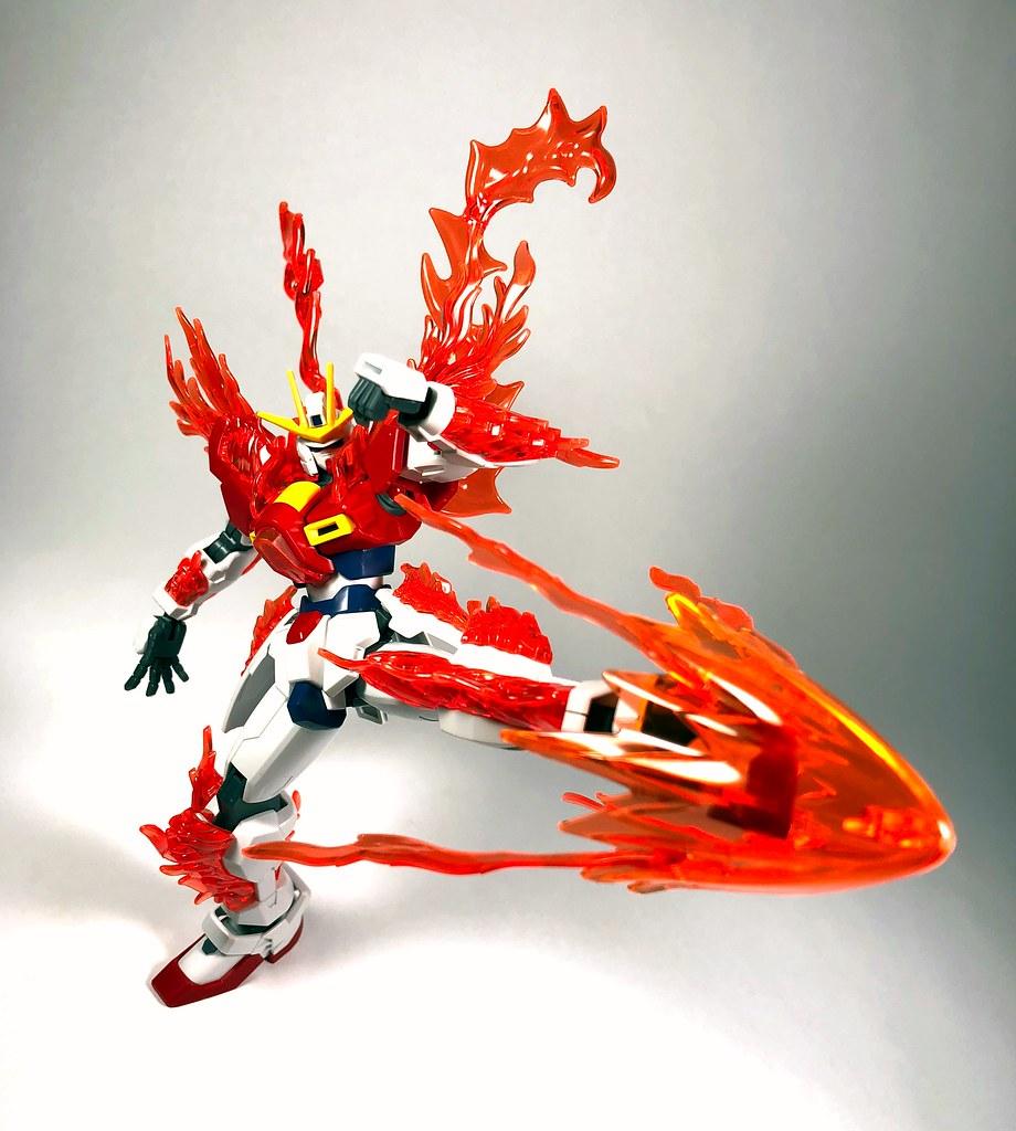Hg Try Burning Gundam My First Gunpla Kit Its Pretty Coo Flickr By Bumblebee5230