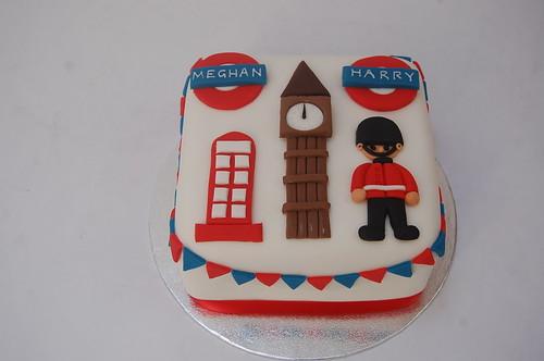 Fabulous Royal Wedding London Cake Beautiful Birthday Cakes Personalised Birthday Cards Vishlily Jamesorg