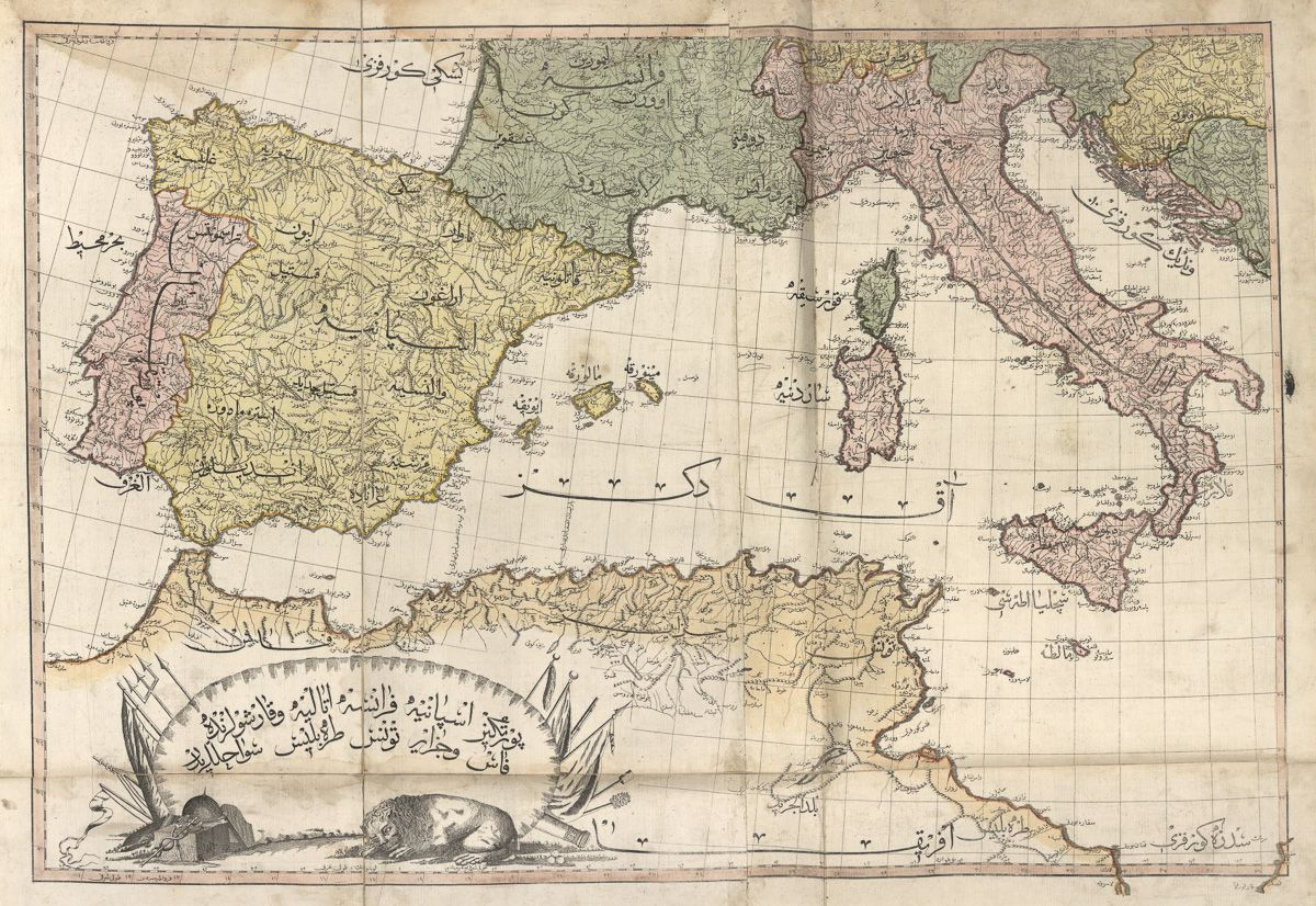 Spain and Italy (1803)