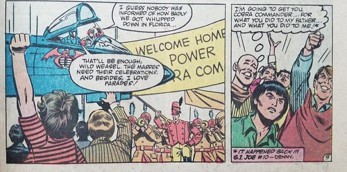 G.I.Joe Issue 29 Not EVERYONE is happy to see the Commander | by yorktownjoe