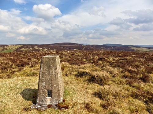 Lamb Hill trig pillar