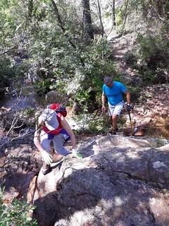 La traversée du ruisseau de Ranedda