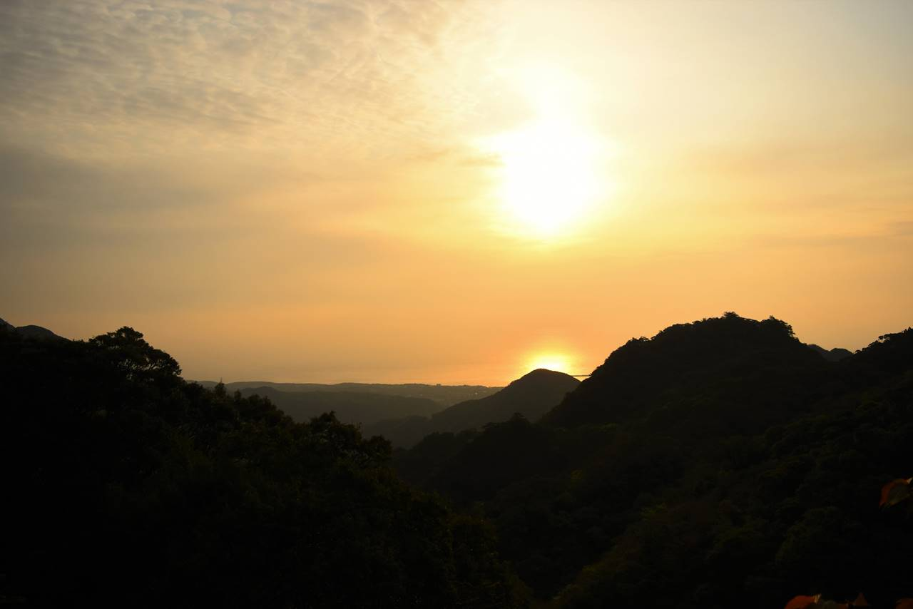 屋久島の朝日