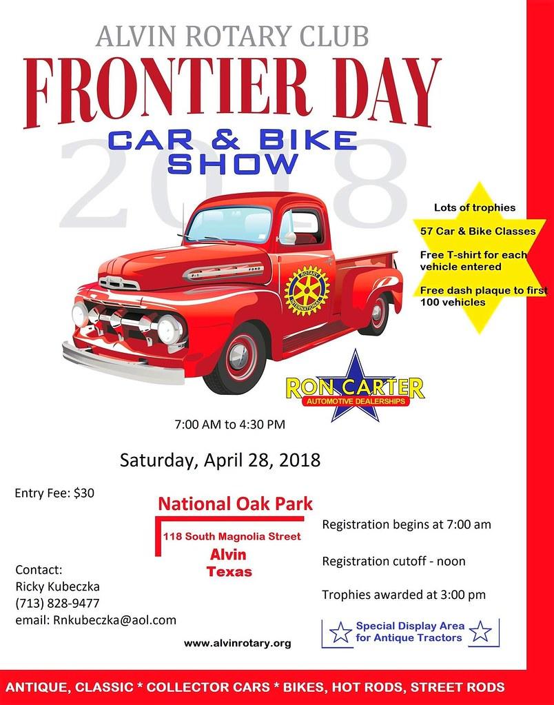 Alvin Frontier Day Car Show