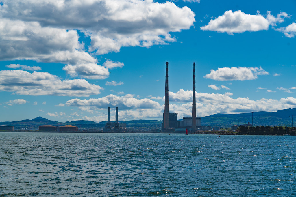 THE POOLBEG STACKS AS SEEN FROM CLONTARF 002