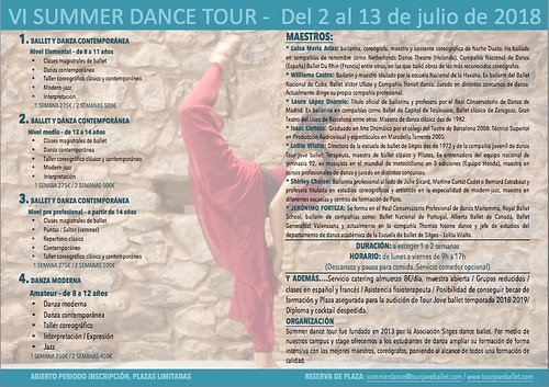Summer Dance Tour 2018