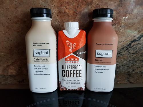 Soylent and Bulletproof Coffee