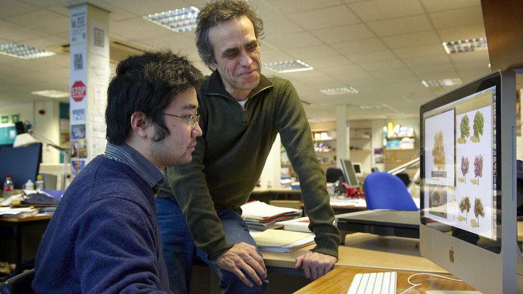 Chris Li and Peter Hall
