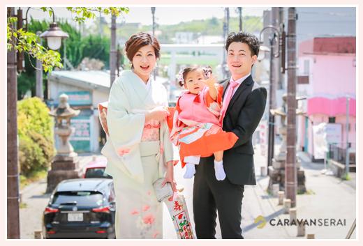 数え3歳の女の子の七五三写真をロケーション撮影 in 深川神社(愛知県瀬戸市)フォトスタジオ・写真館とは違う