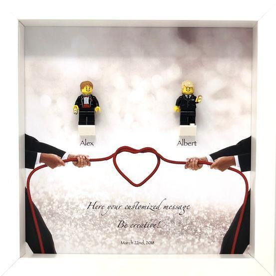 Lego Wedding, Lego Wedding Frame: The perfect wedding gift… | Flickr