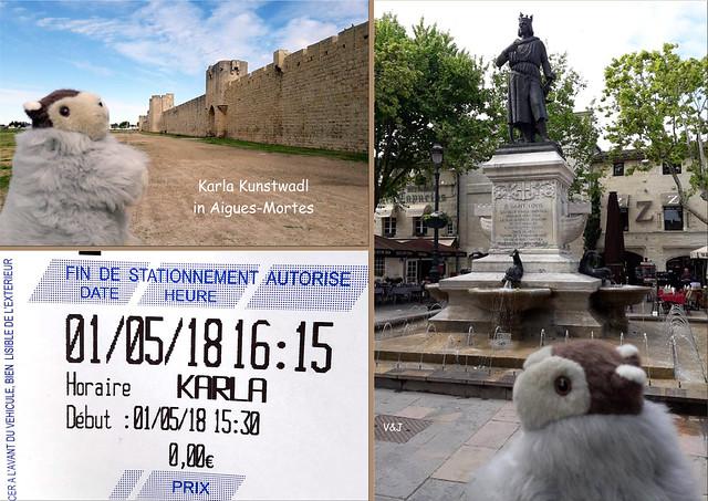 Reisemurmeltier Karla Kunstwadl Provence Camargue Étang de Vaccarès Les-Saintes-Maries-de-la-Mer Aigues-Mortes Grau-du-Roi - Fotos: V&J