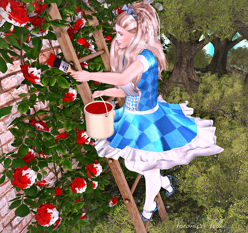 {Blog 338} Painting The Roses Red | by veronica gearz