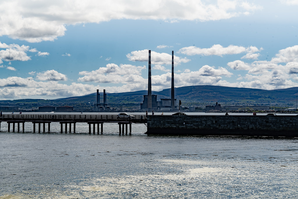 THE POOLBEG STACKS AS SEEN FROM CLONTARF 004