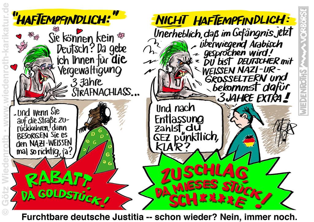 Bildergebnis für justitia karikatur