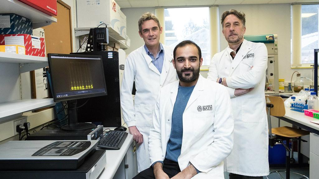 Dr Rob Williams, Dr Omar Kassaar and Prof Jean van den Elsen