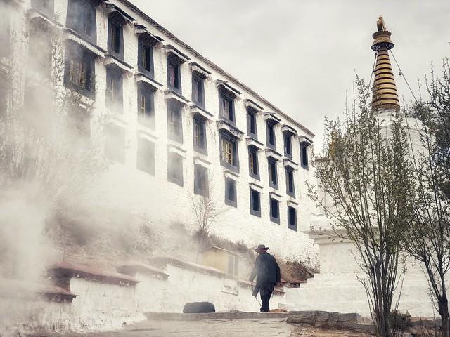 Monasterio Drepung (Tíbet)