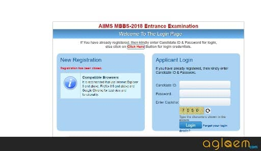 AIIMS 2018: Forgot Password? This Is What You Can Do