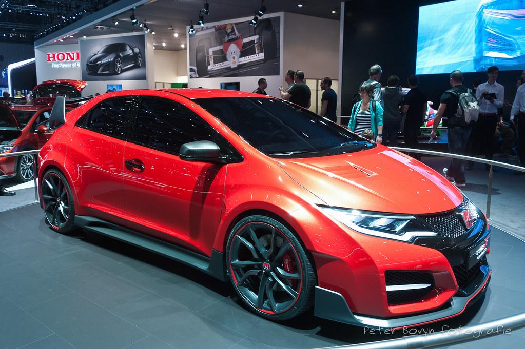 Honda Civic Type R Concept 2014 84th Geneva Internationa Flickr