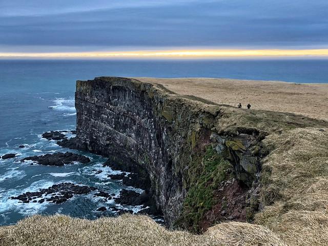 Acantilado de Latrabjarg (Fiordos del oeste, Islandia)