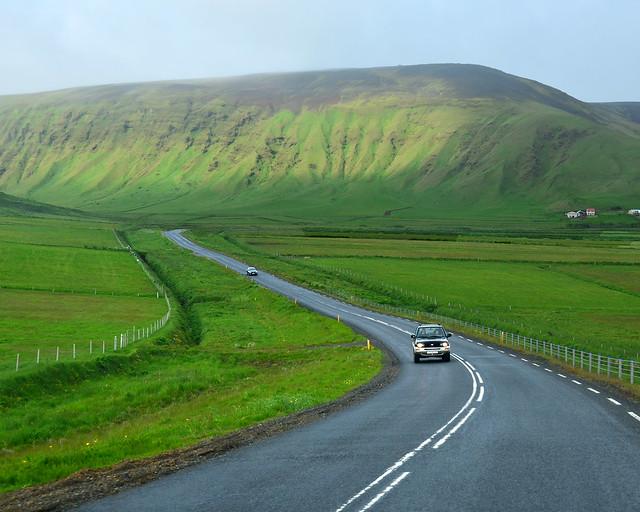 Como son las carreteras de Islandia