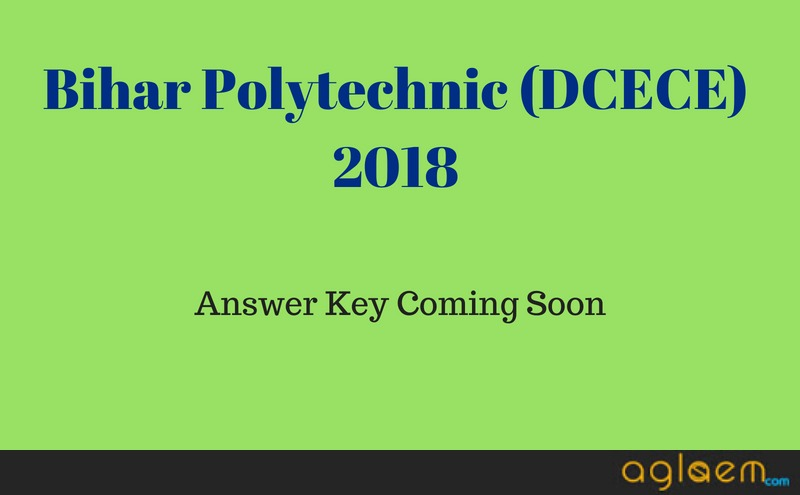 Bihar Polytechnic (DCECE) 2018 Answer Key