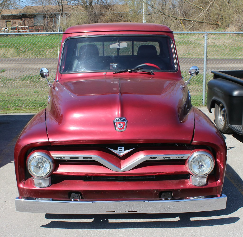 Ford F100 Rat Rod Truck 1955 Street