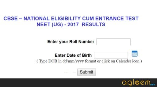 NEET 2018 Result To Be Announced on 5 Jun at cbseneet.nic.in