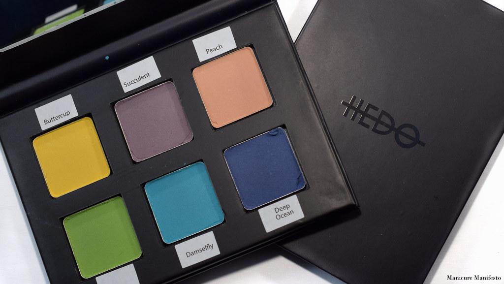 Hedo Cosmetics Swatch