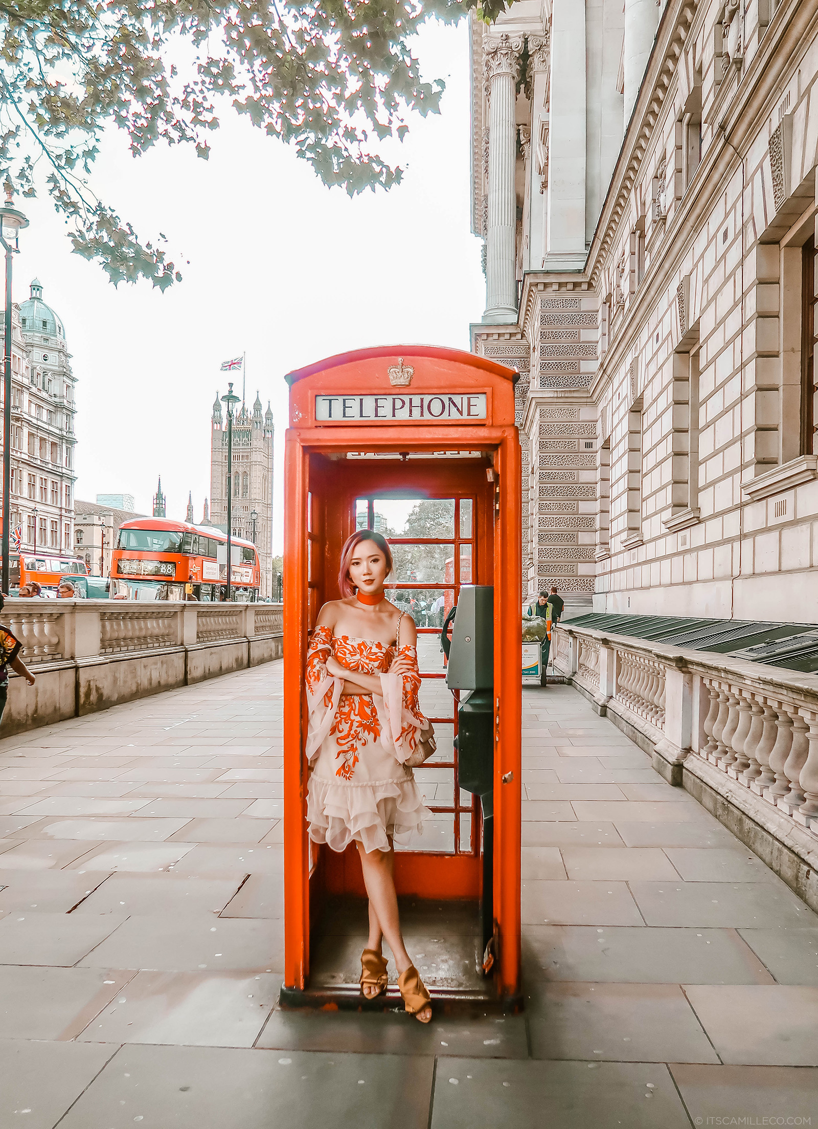 London Phone Booth - Camille Co