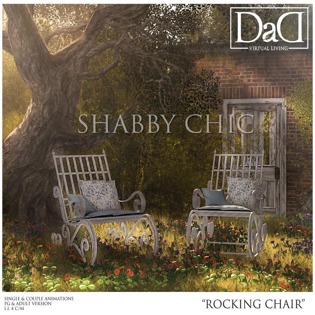 ... Shabby Chic Rocking Chair | by Sheerpetal Roussel - DaD - virtual living -  sc 1 st  Flickr & Shabby Chic Rocking Chair | Itu0027s all about Shabby Chic this u2026 | Flickr