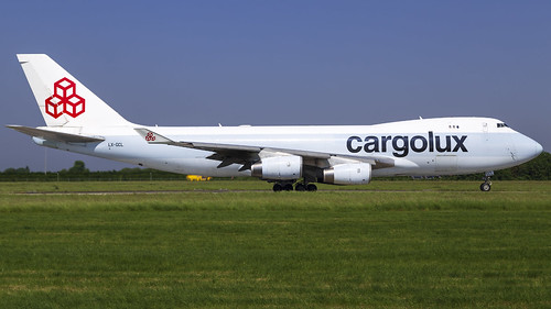 LX-GCL B747-467(F) Cargolux | by Mark Remmel
