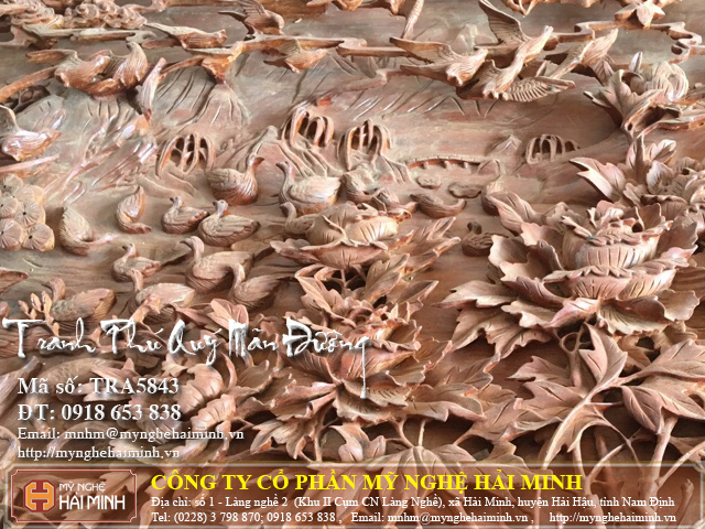 Tranh go Phu Quy Man Duong do go mynghehaiminh TRA5843f
