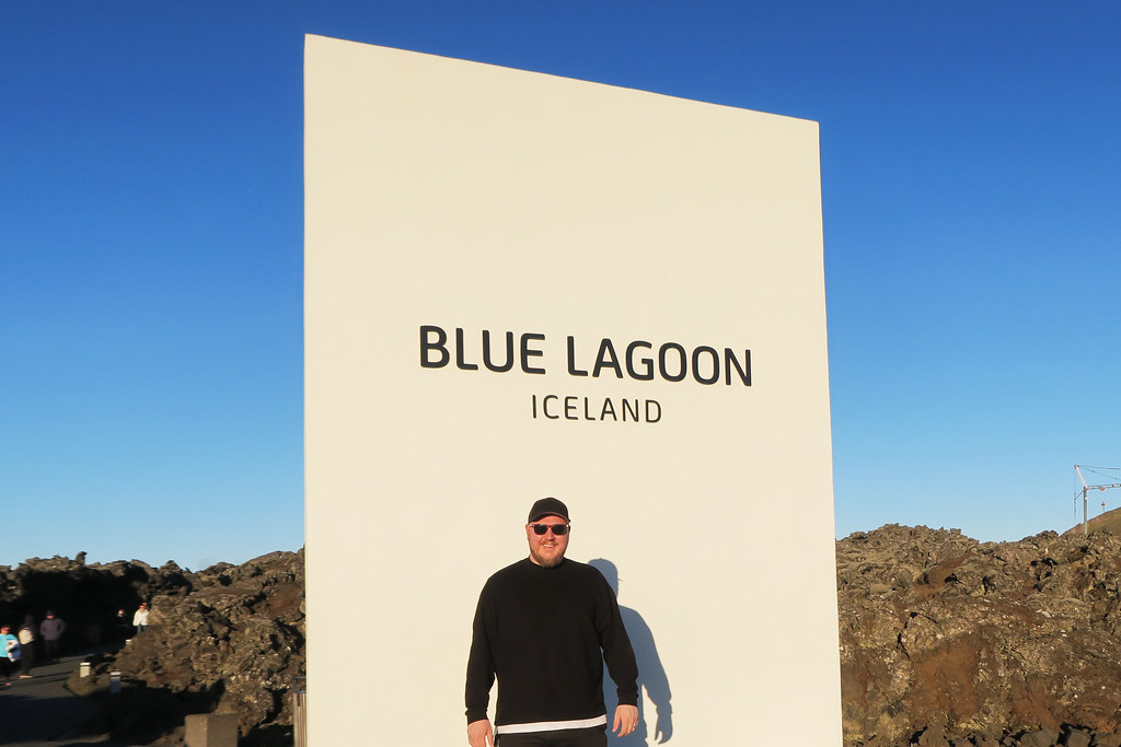 Outside the Blue Lagoon, Iceland