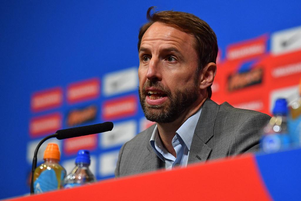 英格蘭國家隊總教練Gareth Southgate。(AFP授權)