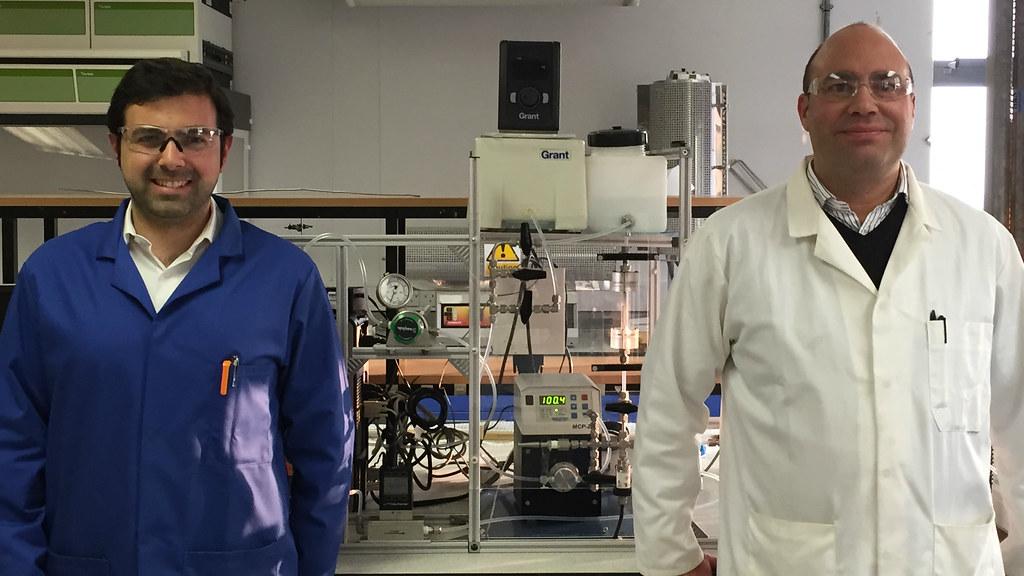 Dr Davide Mattia and Dr Darrell Patterson