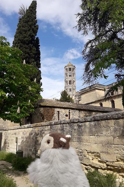 Karla Kunstwadl in der Provence ... Mai 2018 ... Saint-Rémy-de-Provence, Uzès ... Foto: V&J